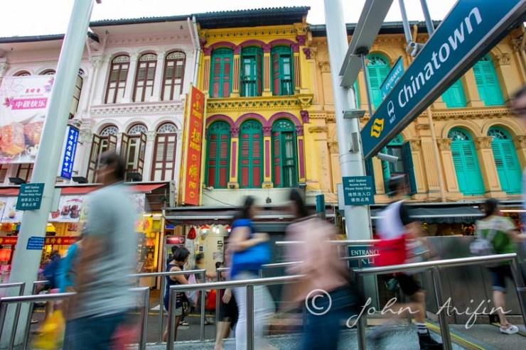 Mid Autumn Festival China Town Singapore
